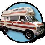 Easy Rider GMC camper van