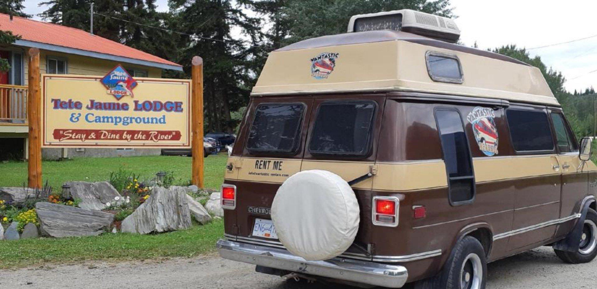 road trip by campervan