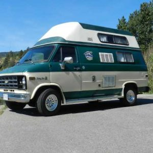 RV Rental Campervan used for Road trips by holidays and adventures throughout BC and area.=